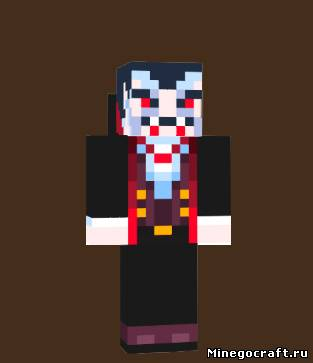 скачать скин вампирши для Minecraft - фото 5