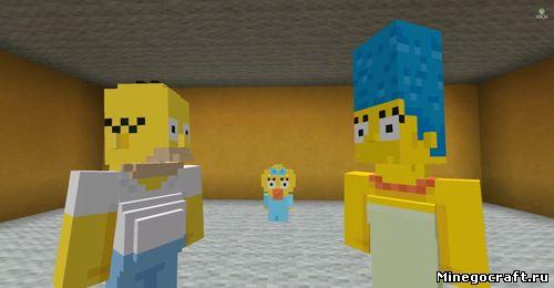 Скин-пак симпсонов вышел на консолях Xbox