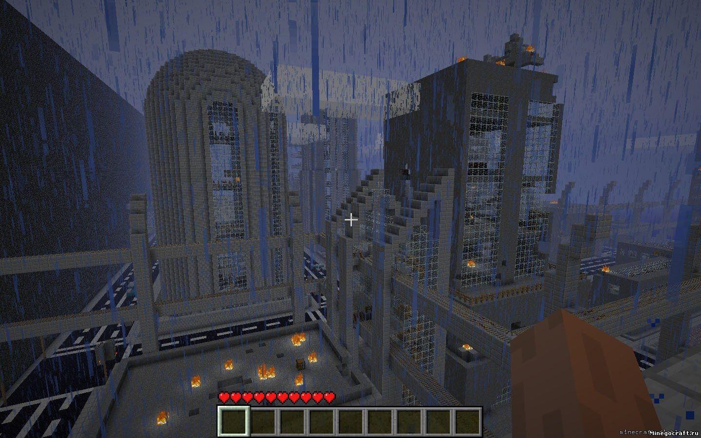 Карта зомби апокалипсис для Майнкрафт 1.7.2