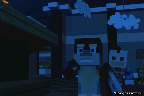 Ролик по Five Nights at Freddy's в стиле Minecraft